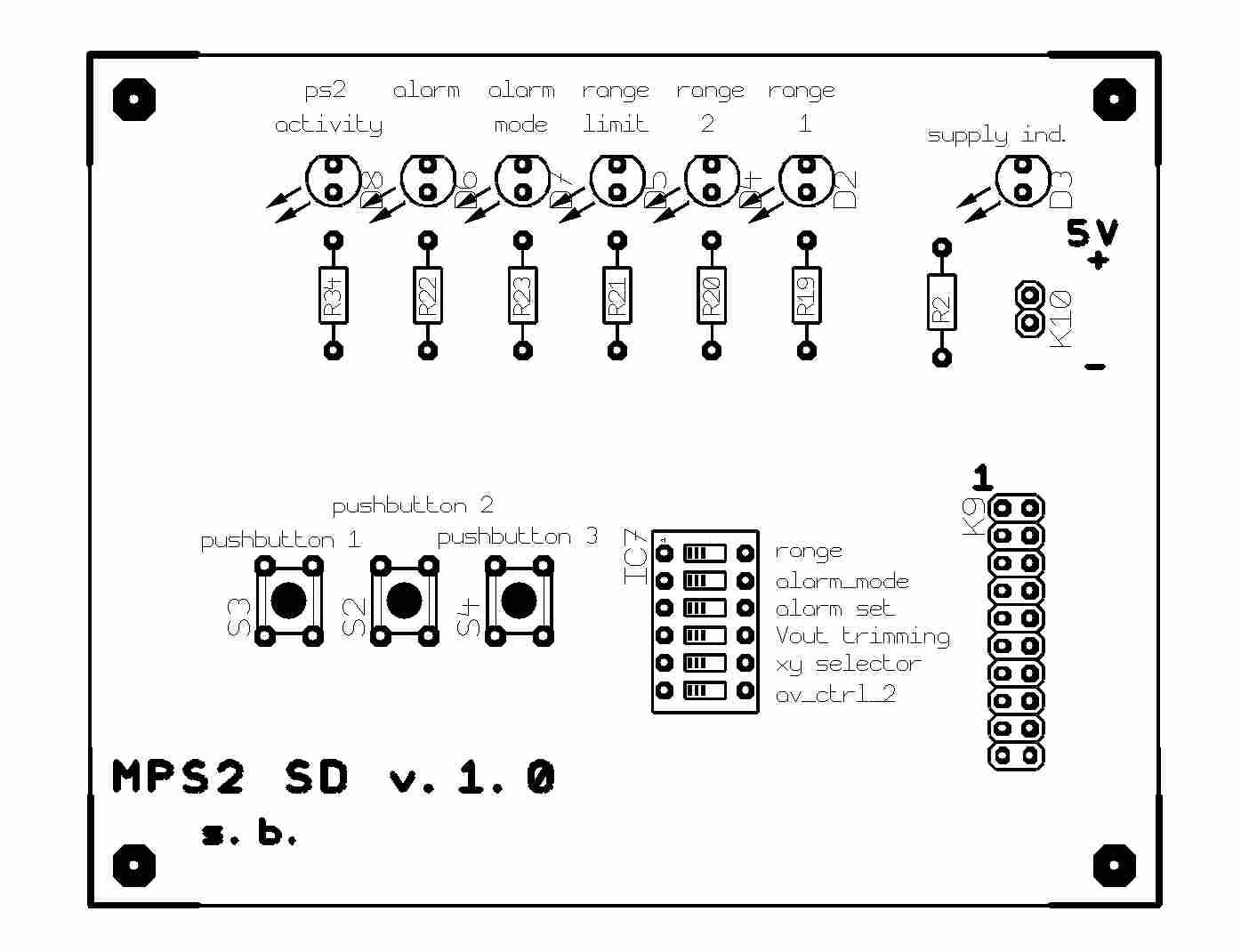 misuratore di velocit u00e0 lineare con mouse ottico ps  2 e