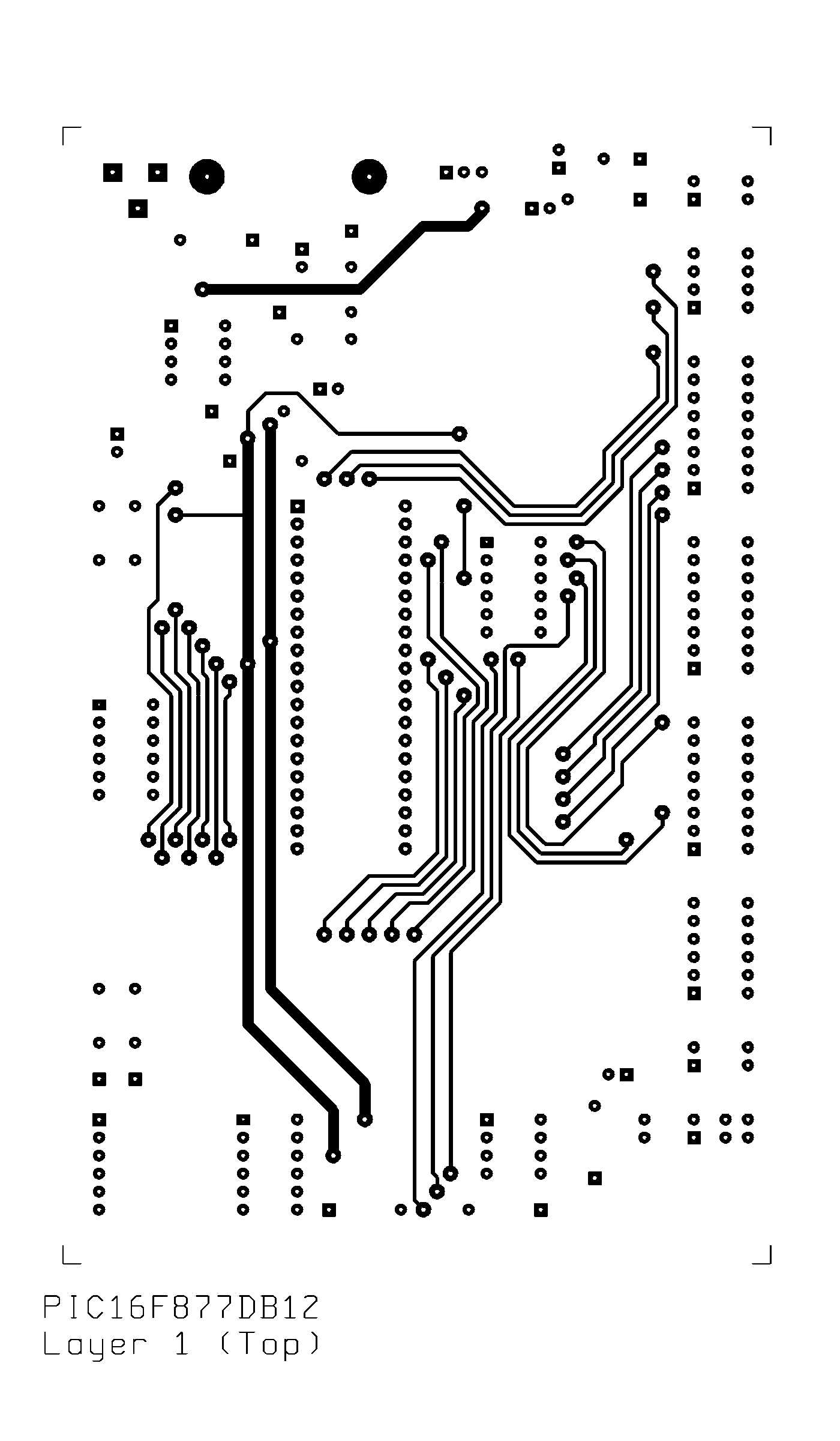 pic16f877 development board v  1 2